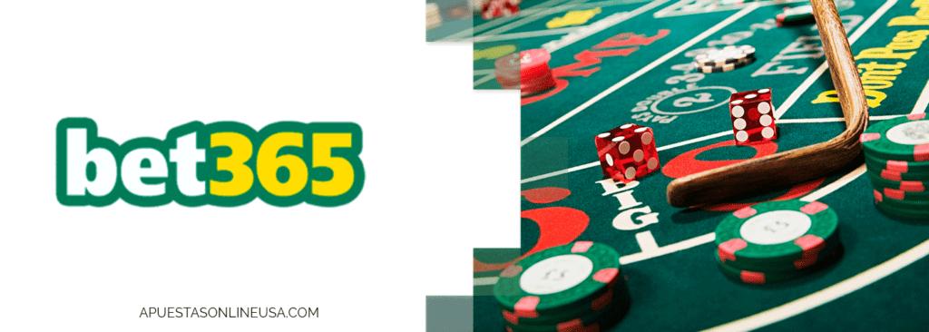 Apuesta en casinos desde USA en Bet365
